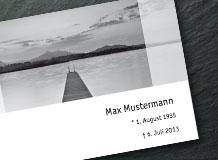 Textideen für Trauerkarten
